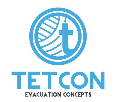 Tetcon logo - evacuation concepts
