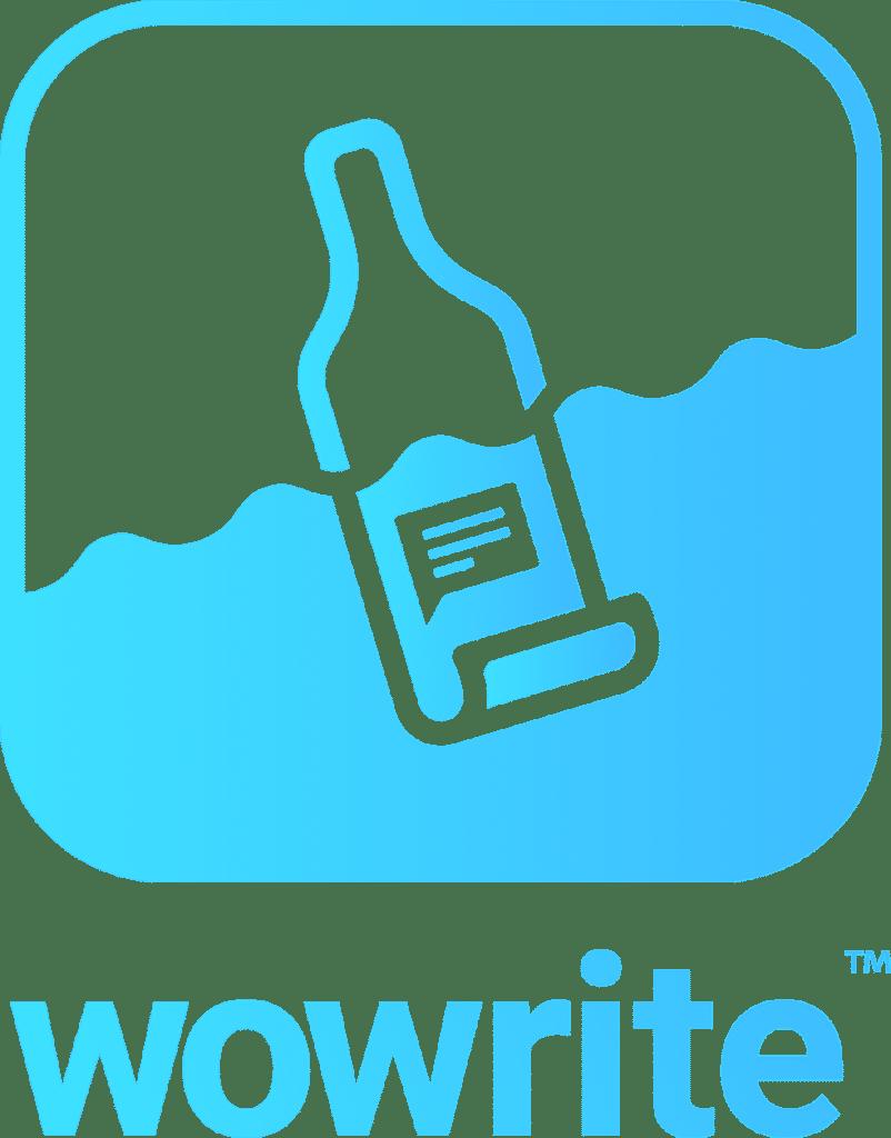 wowrite logo - application for mobile